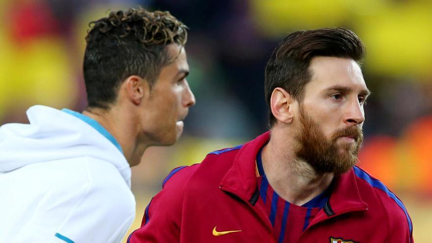 Duelo Messi-Ronaldo, con la primera plaza en juego