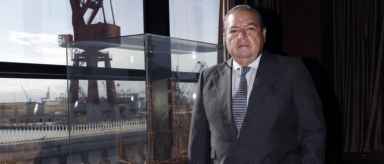 Vicente Boluda Fos, presidente de Boluda Corporación Marítima.