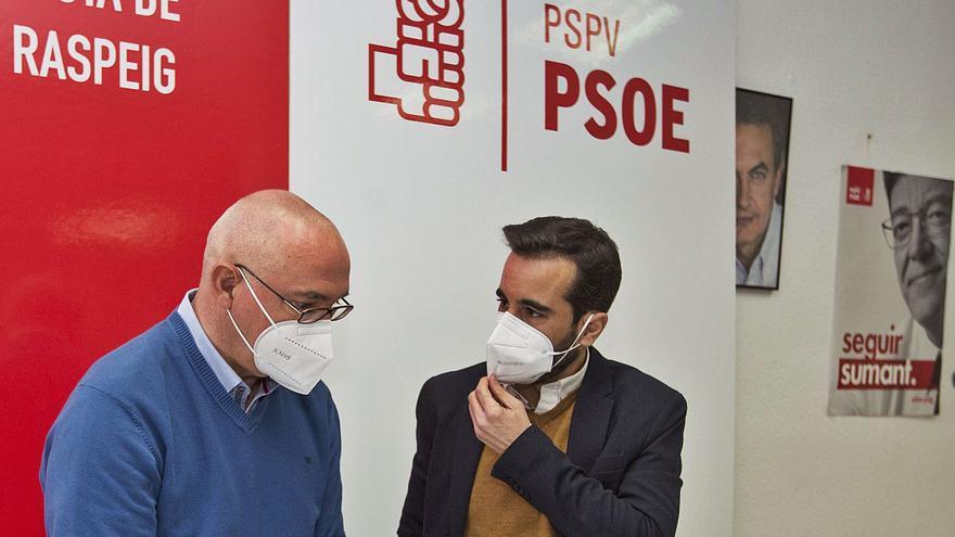 Castigo ejemplar del PSPV para los díscolos de San Vicente: propone a Ferraz la expulsión de los cabecillas