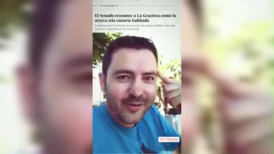 """El humor canario pide """"reorganizarse"""" tras el reconocimiento de La Graciosa como la octava isla"""
