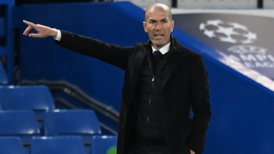 """Zidane: """"El Chelsea ha merecido la eliminatoria"""""""