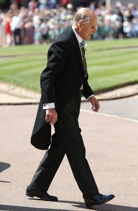 Felipe de Edimburgo. / AFP PHOTO / POOL / Gareth Fuller