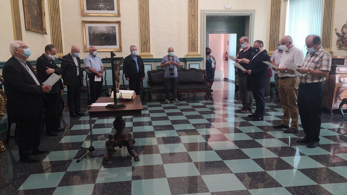 Ha tingut lloc, a la seu del Bisbat de Girona, la presa de possessió dels nous càrrecs parroquials i diocesans