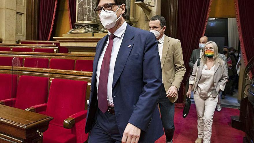 Illa reclama a Aragonès que deixi de vetar el PSC