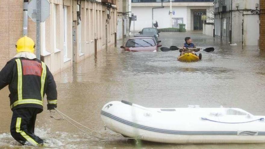 Aniversario de la riada en Sada