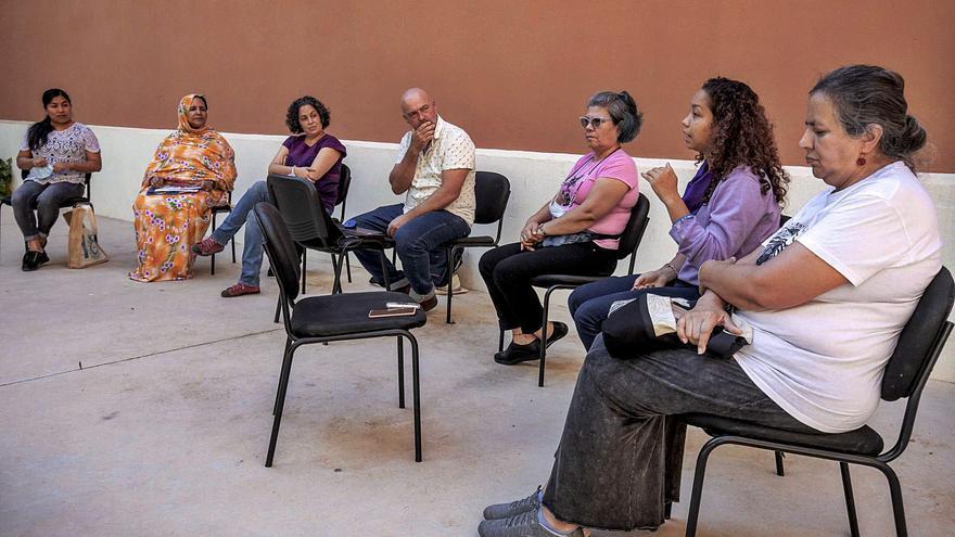 Palma se pone en la piel  de seis activistas refugiadas