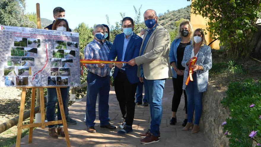 La mejora del camino del manantial de Zambra en Rute ha costado 100.000 euros