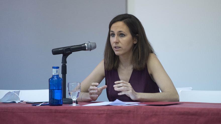 """Belarra propone implantar una tasa al """"agronegocio"""" ante la contaminación del Mar Menor"""
