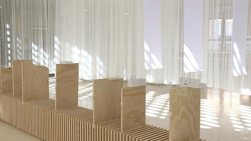 Premio Nacional de Arquitectura Efímera Emporia de Plata por la exposición 'Blur'