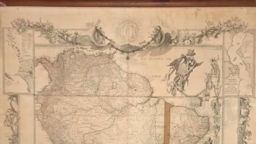 Subastado en portal malagueño todocoleccion un mapa prohibido