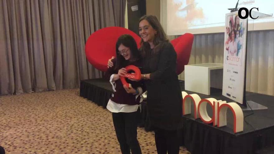 eWoman Coruña premia a Minia Manteiga, Rosa Mirás, Lucía Otero y Carmelamola