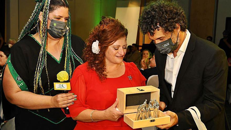 Juana María Tejero, mejor vendedora de la ONCE de Baleares