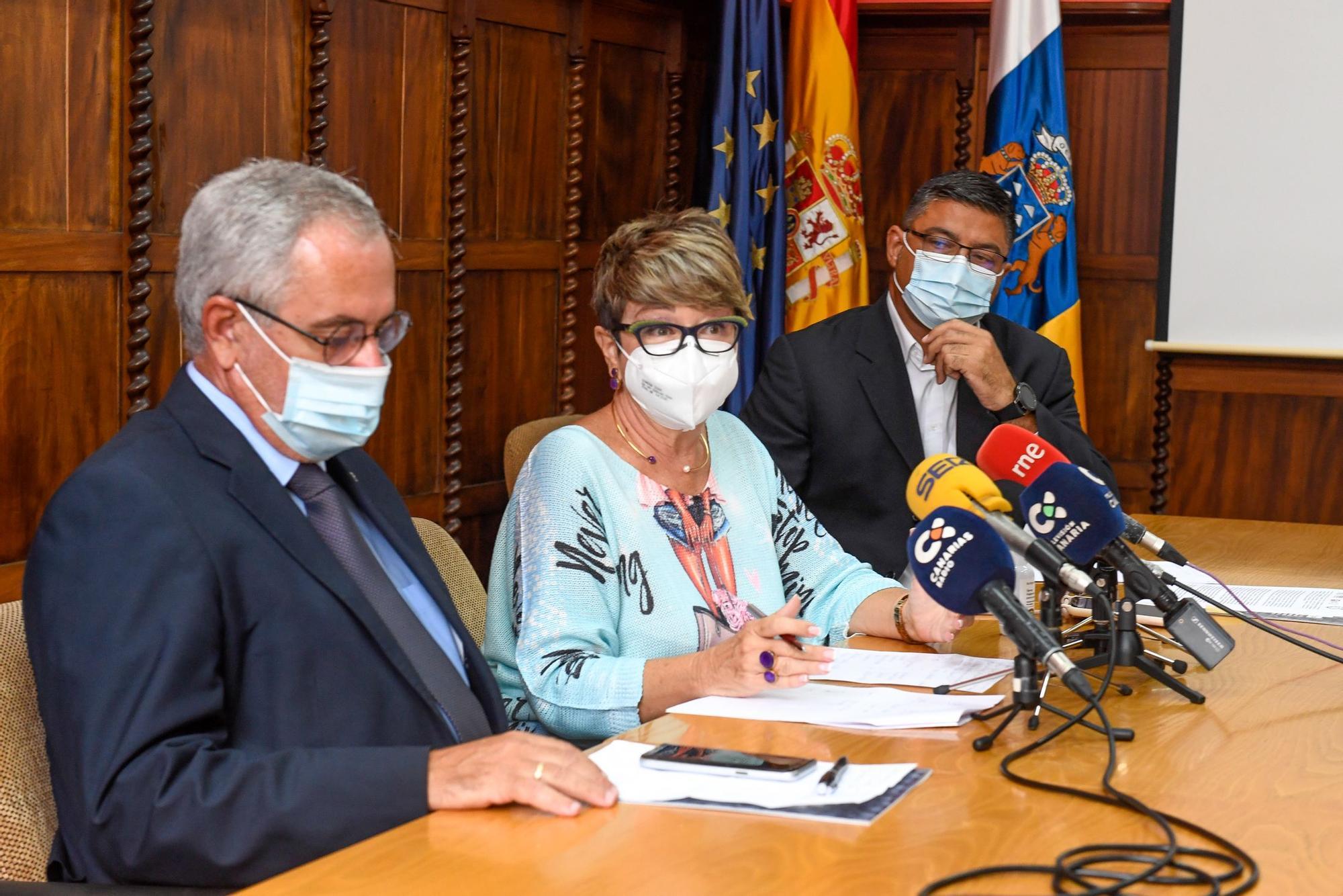 Reunión de las patronales de la construcción con sindicatos y Gobierno de Canarias