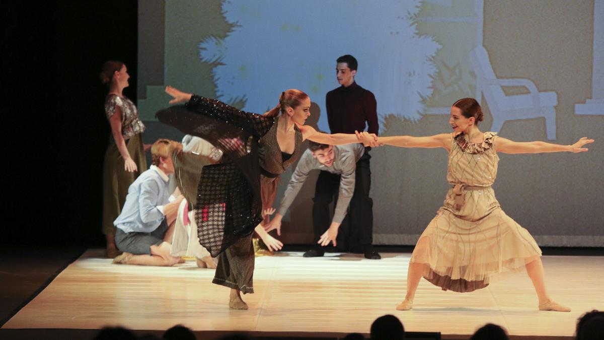 Una actuación de danza el pasado año en el Ramos Carrión de Zamora.