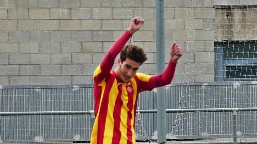 Ismail Chaabouchi, gols des del Vilajuïga cap a Bolonya