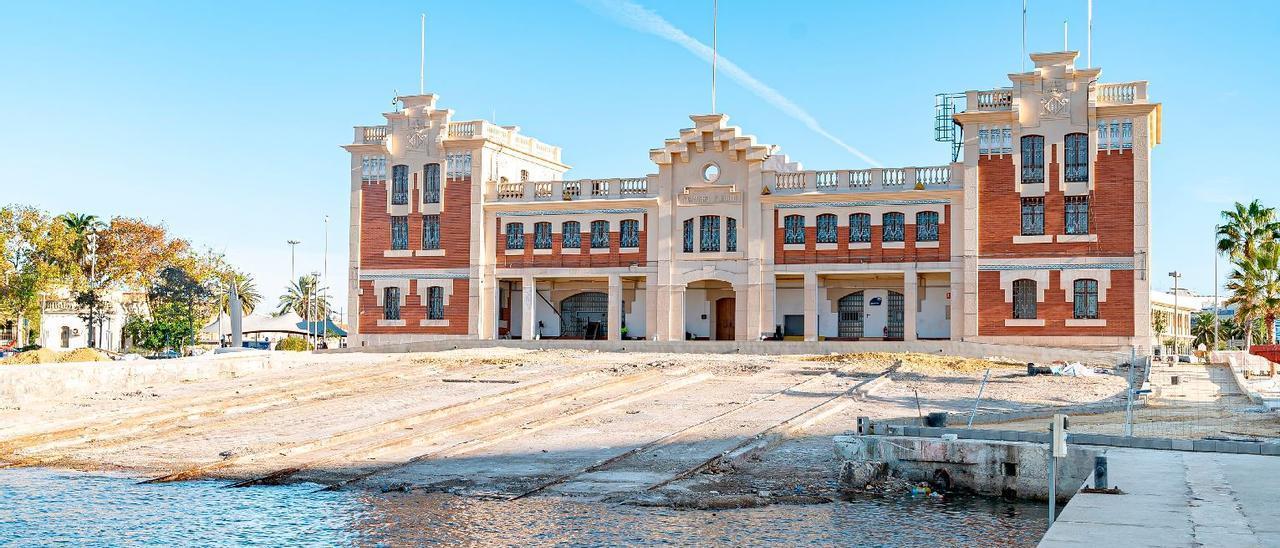 Ribó asegura que solo parte del varadero será Museo del Mar