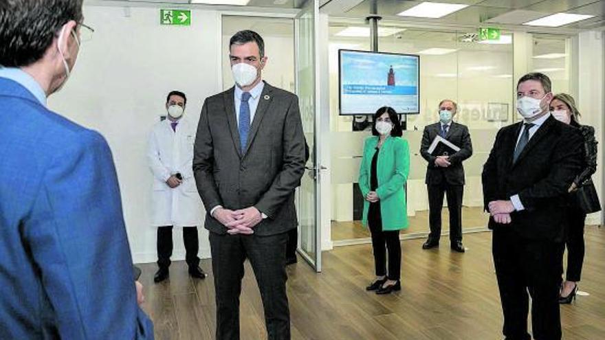 España eleva hasta los cuatro millones la llegada de dosis para esta semana