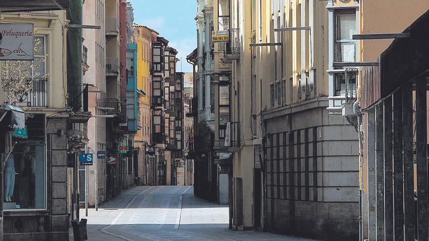 Calles vacías y fronteras cerradas