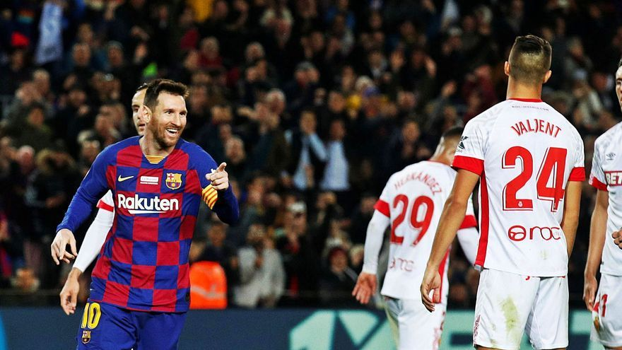 Messi, la bestia negra del Mallorca