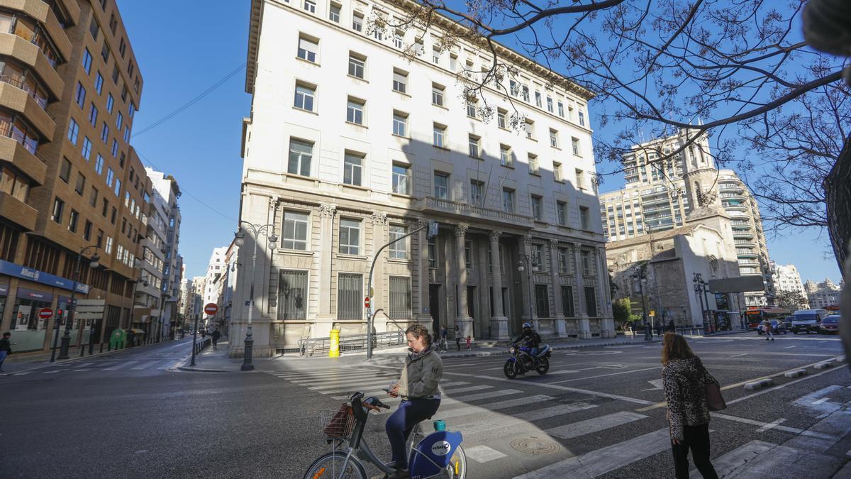 La sede de Hacienda en València