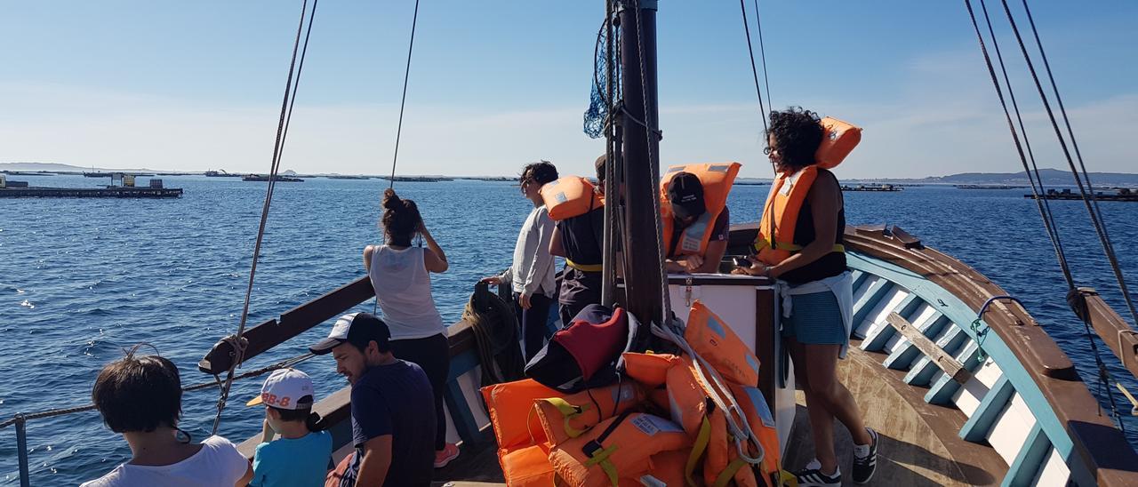 """Una expedición a bordo del """"Chasula""""."""