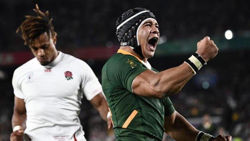 Sudáfrica destroza a Inglaterra y gana el Mundial de rugby