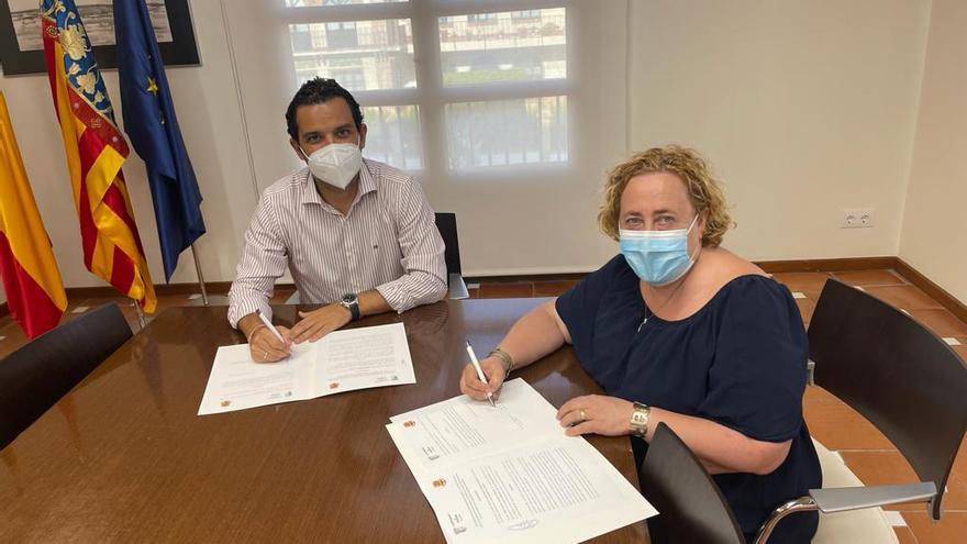 Paterna y JLF destinarán el remanente de la subvención municipal a las 17 comisiones