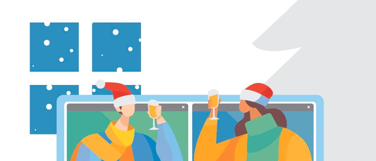 ilustración. Navidad