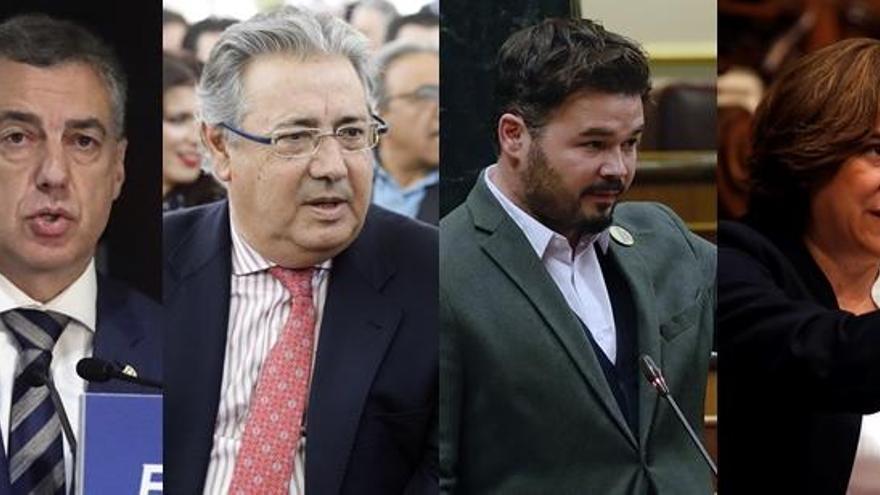 Juicio del procés: Turno hoy para Íñigo Urkullu, Juan Ignacio Zoido, Gabriel Rufián y Ada Colau