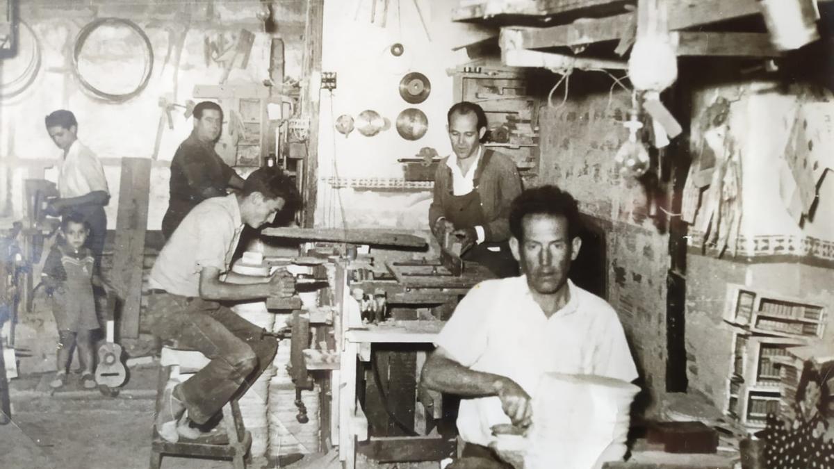 Un antiguo taller de fabricación de juguetes