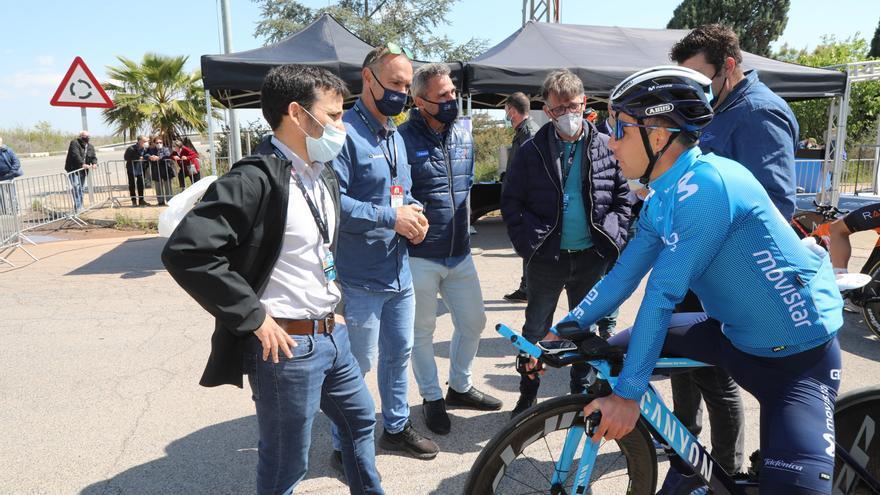 Küng reina en la crono y Mora es 7º en Almenara en la cuarta etapa de la Volta a la Comunitat