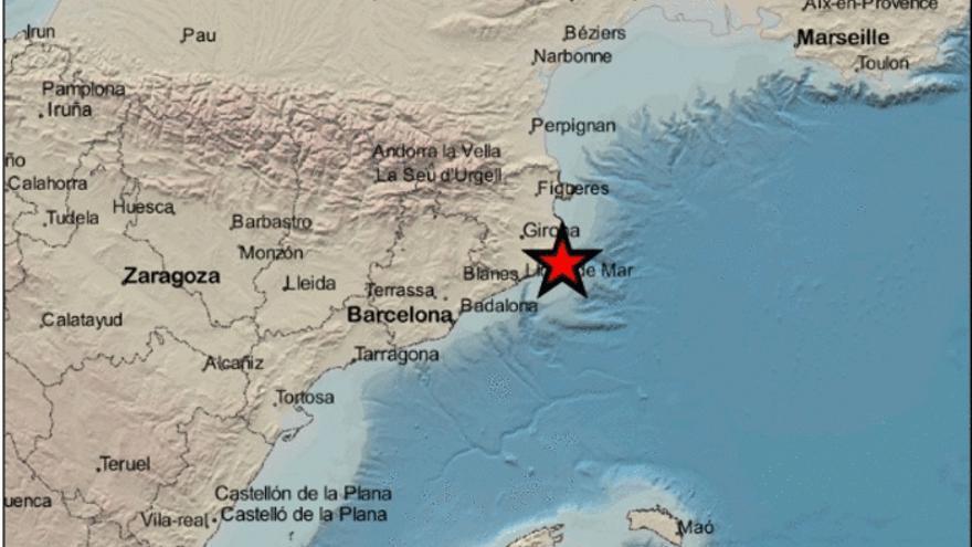 Un terratrèmol davant la costa de Palamós es fa sentir al Baix Empordà