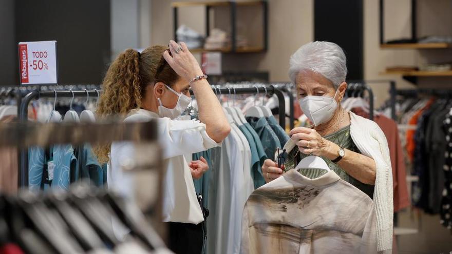 Las ventas del comercio minorista aumentan un 19,3% en mayo