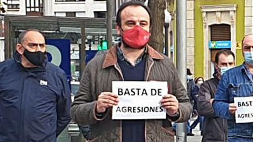 Los sindicatos cargan contra la represión de los trabajadores en la plaza de Europa