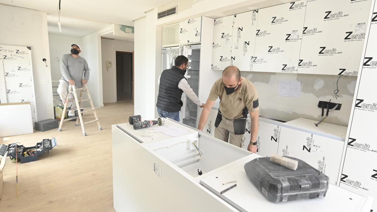 La pandemia ha impulsado a la reforma de viviendas, con el consiguiente efecto positivo en el empleo del sector