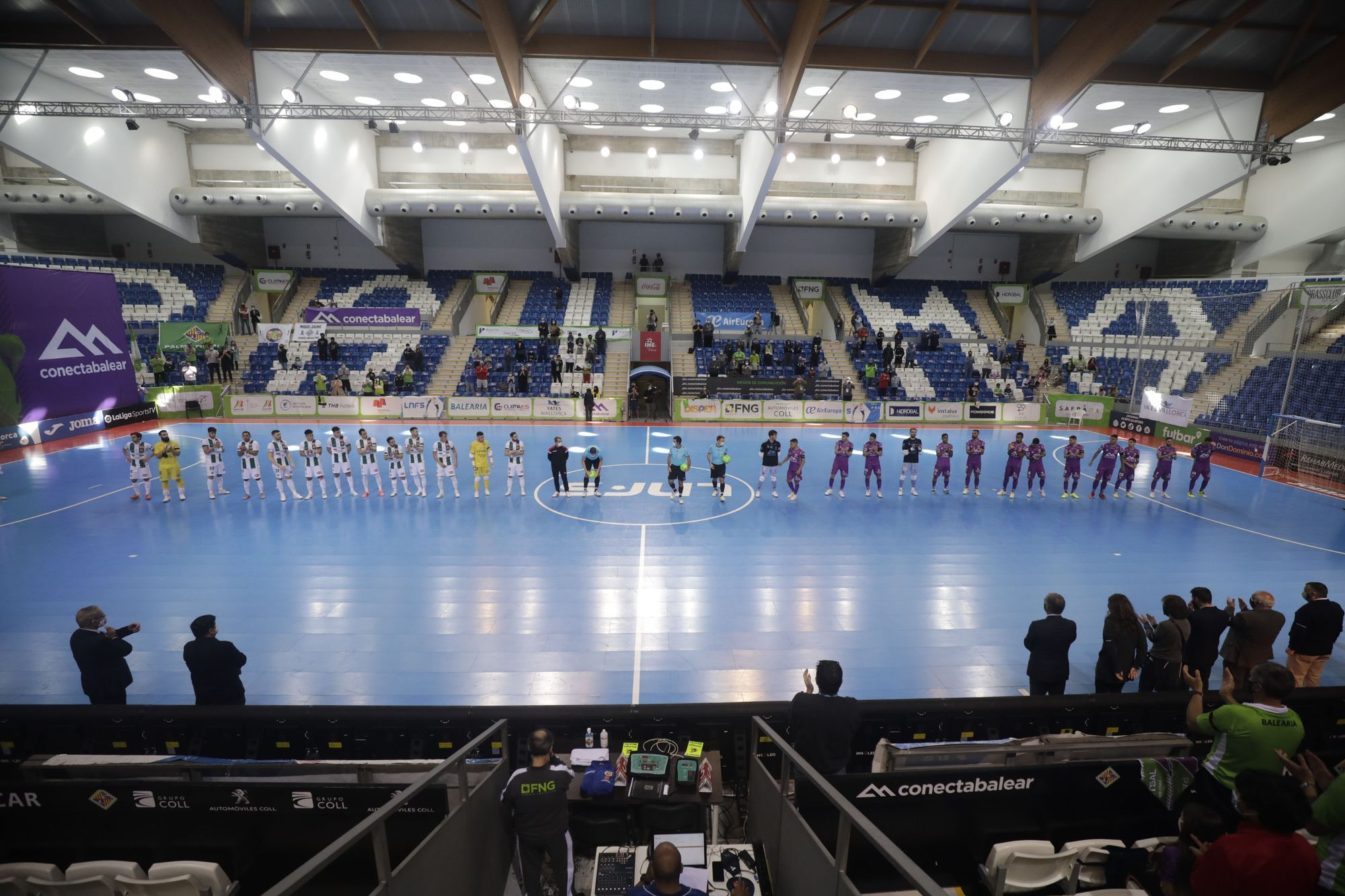 Homenaje del Palma Futsal a Miquel Jaume