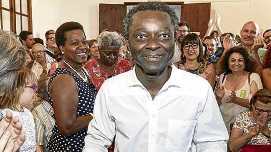 Schwarzes Schaf für schwarzen Bürgermeister