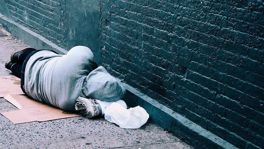 Un indigente muere en una calle de Vigo durante la ola de frío