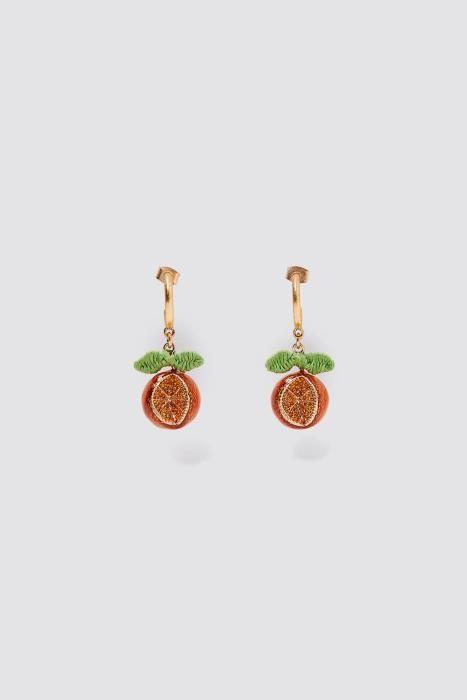 Pendientes con naranjas de Zara. (Precio: 12,95 eu