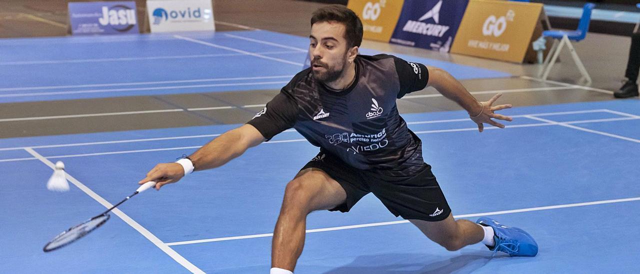 Alberto Zapico,  durante un partido. | Benjamín Pérez