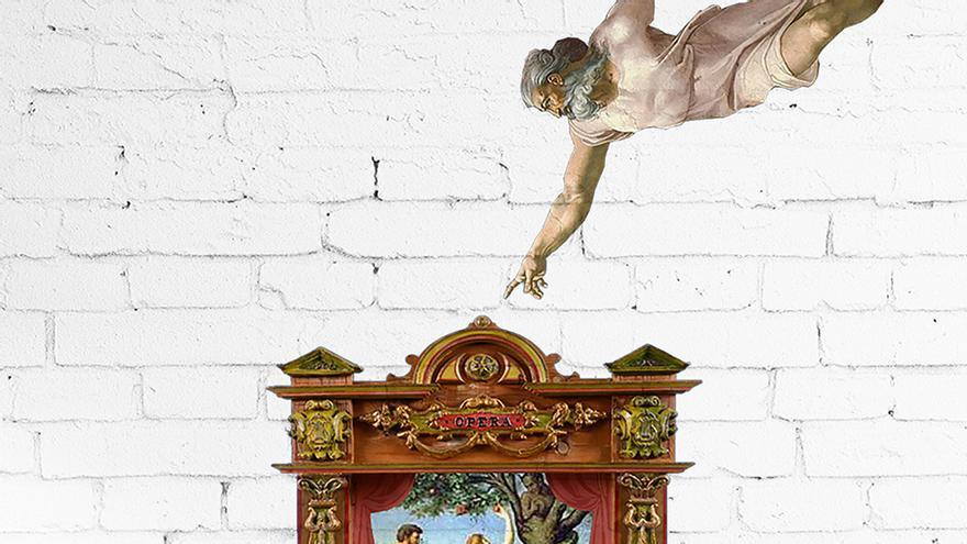El setè dia, Déu creà l'escenari teatral