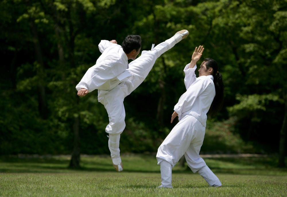 Corea del Sur - El Taekkyeon, arte marcial tradicional coreano.