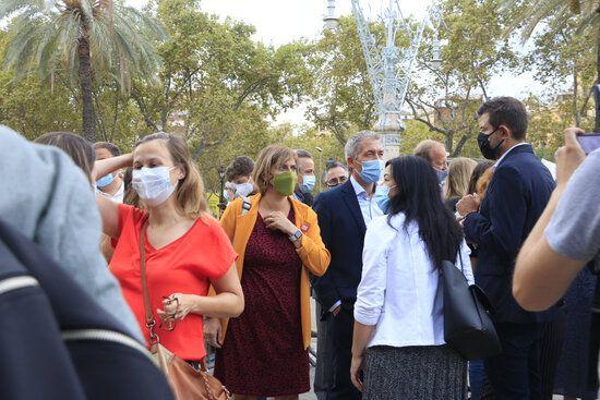 Adriana Delgado, Torrent i dos exmembres de la Mesa del Parlament, citats a declarar al TSJC per desobediència al TC
