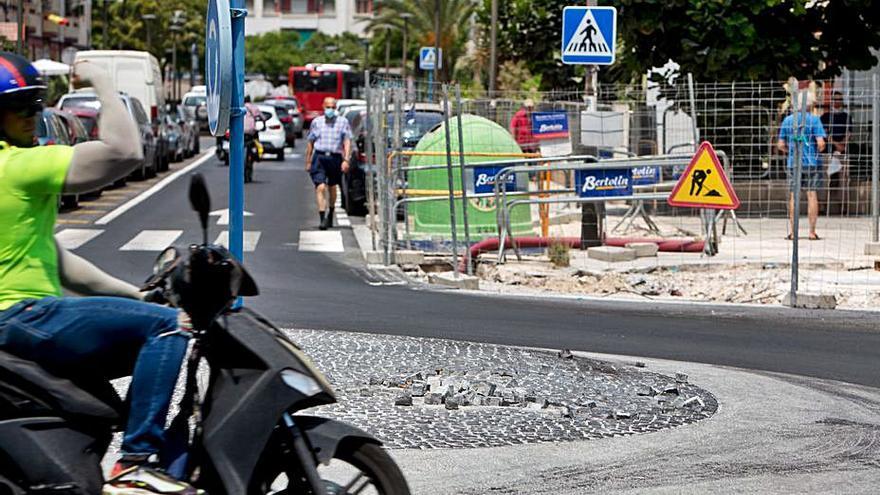 Quejas en Padre Esplá por la pérdida de 240 plazas de aparcamiento