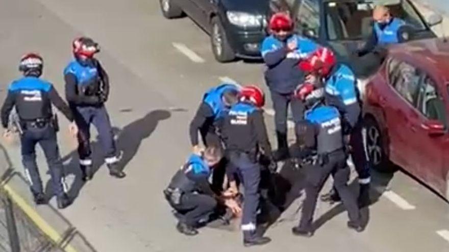 El atacante del hacha de Nuevo Gijón, a la espera de recibir el alta