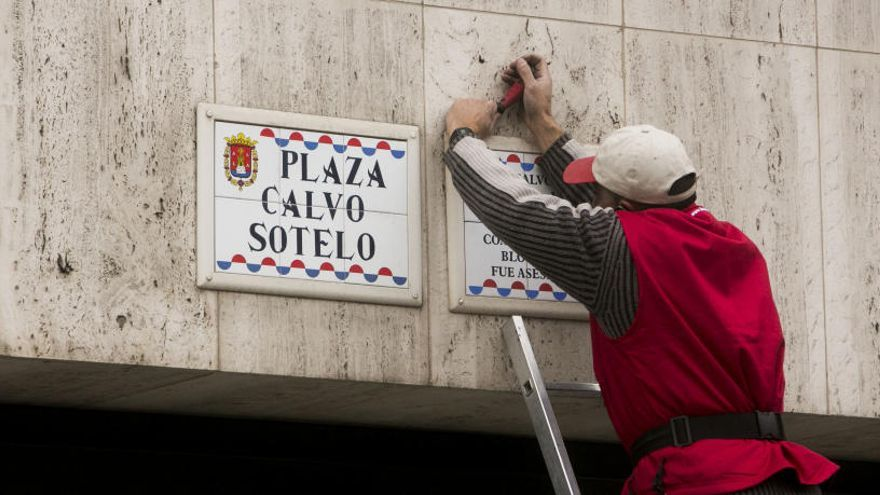 El Ayuntamiento insiste en que la Junta de Gobierno es el órgano competente para aprobar el cambio de calles franquistas