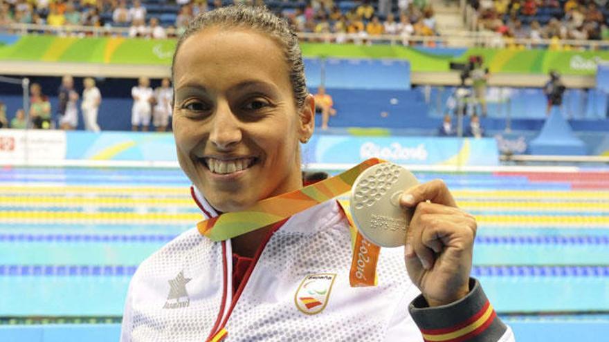 Teresa Perales resurge y se cuelga su segunda medalla de plata