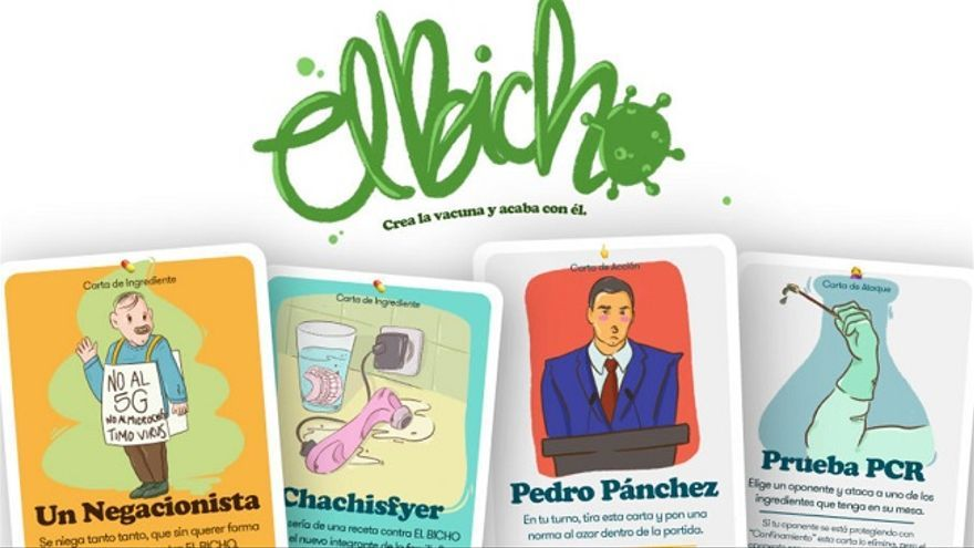 'El bicho', el juego de un autor cartagenero para acabar con la Covid