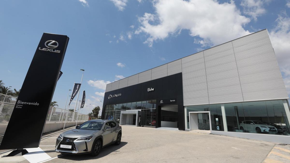 Instalaciones de Lexus en Elche.