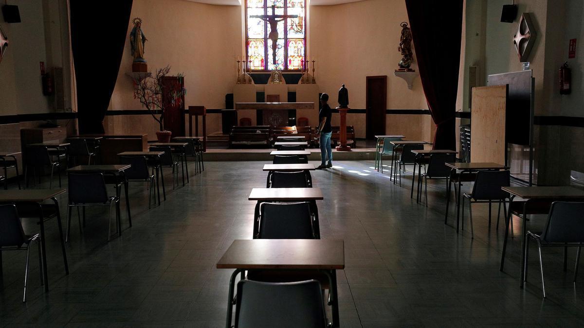 Colegio concertado de València.